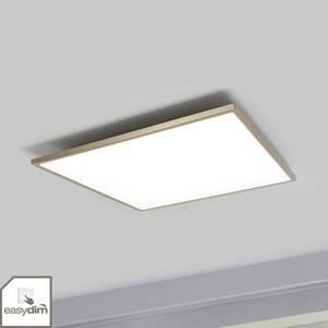 Brilliant Stropné LED svietidlo Ceres easydim nikel 45x45cm