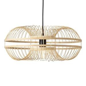 Brilliant Závesná lampa Busan s tienidlom z bambusu