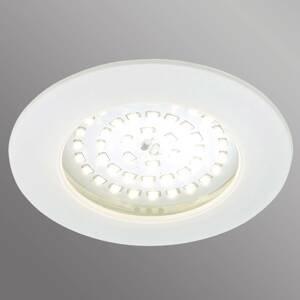 Briloner Biele zapustené LED svetlo Carl vonkajšie