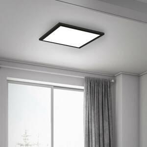 Briloner LED panel Simple, čierny, ultra plochý, 30 x 30cm