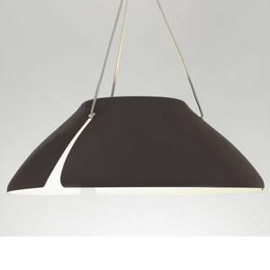 B.lux Hnedé závesné LED svietidlo Ginkgo S50 50cm