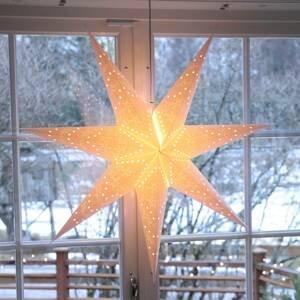 STAR TRADING Sedemcípa Sensy Star dekoračná lampa