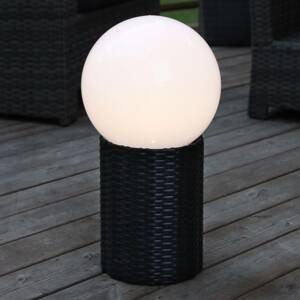 Best Season Solárna LED guľa Lug s podstavcom, Ø 25cm