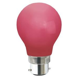 Best Season B22 0,8W LED žiarovka, červená