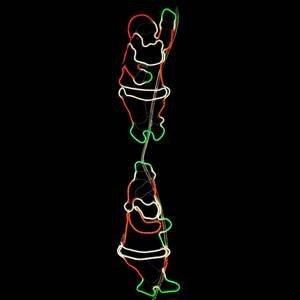 STAR TRADING Lezúci Mikulášovia vonkajšia LED dekorácia NeoLED