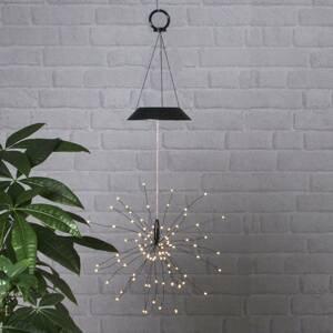 Best Season Solárna závesná LED lampa Firework