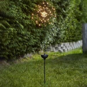 Best Season LED solárna lampa Firework na zapichnutie do zeme