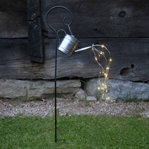 STAR TRADING Solárna LED lampa Dew Drop Water Can