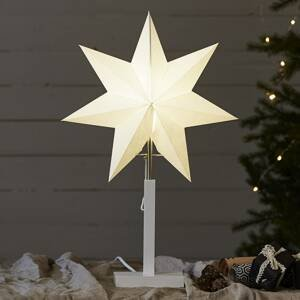 STAR TRADING Stojaca hviezda Karo, výška 55cm