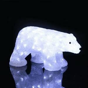 STAR TRADING LED figúrka Crystalo Ľadový medveď exteriér 49,5cm