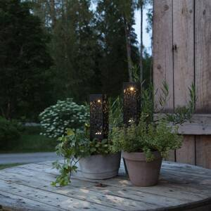 Best Season LED solárna deko lampa Izola, súprava 2 ks