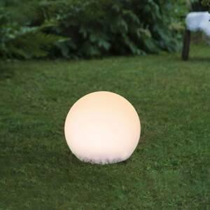 STAR TRADING Solárna LED guľa Globy s hrotom do zeme