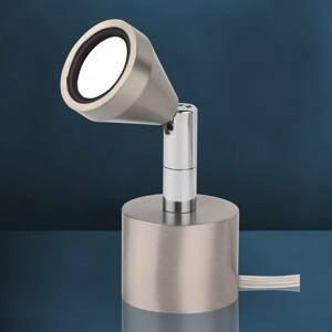 Busch Výkyvná stolná LED lampa MINI teplá biela
