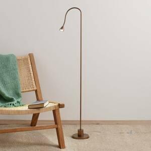 Busch Minimalistická stojaca LED lampa MINI antická