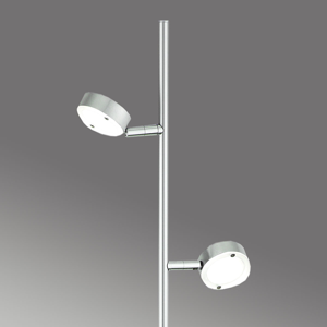Busch Minimalistická stolná LED lampa SATURN 2-plameňová
