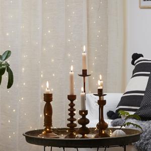Best Season LED svetelná záclona Dew Drops, výška 100 cm