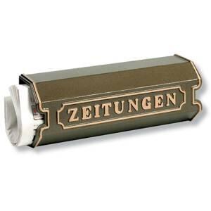Burgwächter Box na noviny z hliníkovej zliatiny 1890, bronz