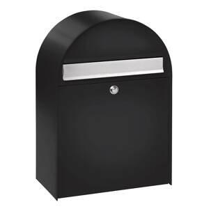 Burgwächter Nordic 780 – veľká poštová schránka, čierna úprava