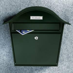 Burgwächter Zelená poštová schránka Holiday 5842 z ocele