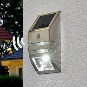 Brenenstuhl LED solárna lampa Sol WL-2007, poh. snímač