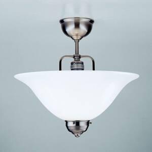 Berliner Messinglamp Niklové stropné svietidlo ROSA, ručne vyrábané