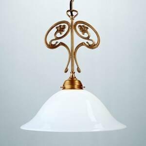 Berliner Messinglamp Závesná lampa EWALD z berlínskej mosadze