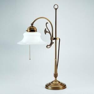 Berliner Messinglamp Jemná stolná lampa Elisabeth
