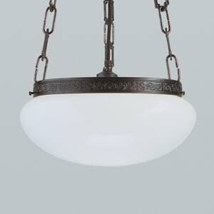 Berliner Messinglamp Anticky pôsobiaca závesná lampa Verne