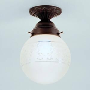 Berliner Messinglamp Jack – ručne vyrobené stropné svietidlo
