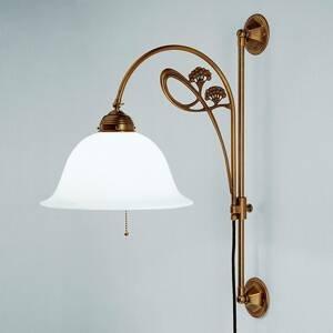 Berliner Messinglamp Jemné nástenné svietidlo Athen