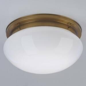 Berliner Messinglamp Veľké stropné svietidlo Harry z mosadze Ø 40cm