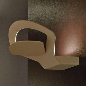 BRAGA Nástenné LED svietidlo Loto – hnedé