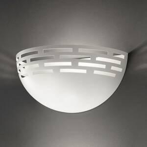 BRAGA Nástenné LED svietidlo Greka, biele