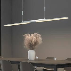 B-Leuchten B-Leuchten Less závesné LED svietidlo nikel matné