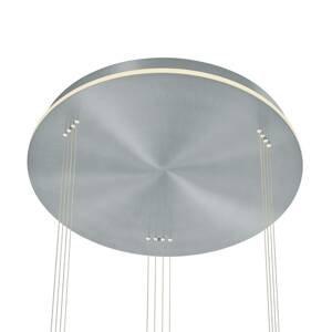 B-Leuchten B-Leuchten Sam závesné LED svietidlo rondel, nikel
