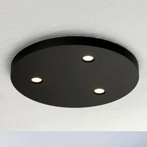 BOPP Bopp Close stropné LED svetlo 3-pl. okrúhle čierne