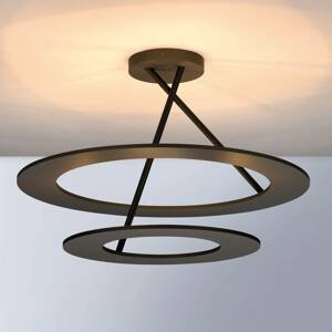 BOPP Bopp Stella stropné LED 2 kruhy bronz/čierne