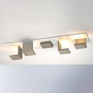 BOPP Bopp Reflections stropné LED dlhé biele/taupe
