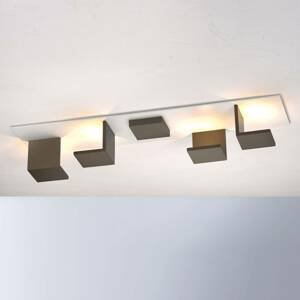 BOPP Bopp Reflections stropné LED dlhé biele/bronz