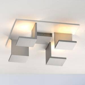 BOPP Bopp Reflections stropné štvorec biele/hliník
