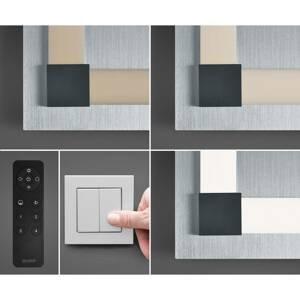 BOPP Bopp Plain stropné LED 48 x 48cm smart ovládanie