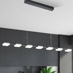 BOPP Bopp Quad závesné LED svietidlo 7-pl čierne/hliník