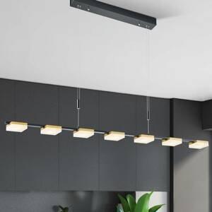 BOPP Bopp Quad závesné LED svietidlo 7-pl. čierne/zlaté