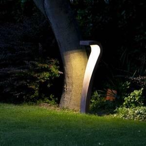 9010 Chodníkové LED Cobra dizajnérsky objekt v čiernej