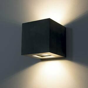 9010 Vonkajšie nástenné LED 1092 up & down, čierne