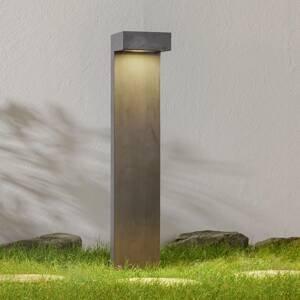 9010 Chodníkové LED Paletti v hranatom tvare, čierne