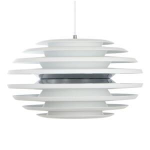 BELID Závesná lampa Ellipse 50cm biela/chróm