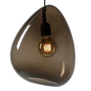 BELID Závesná lampa Oceán tienidlo na lampu dymová sivá