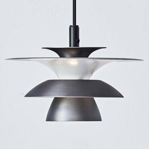 BELID LED závesné svietidlo Picasso Ø 18 cm oxidovo-sivé