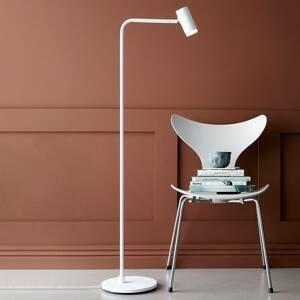 BELID Stojaca LED lampa Cato Q so stmievačom, biela